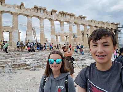 acropolis family tour